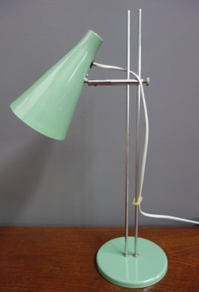 L194 desk lamp by Josef Hůrka for Lidokov, 1960s
