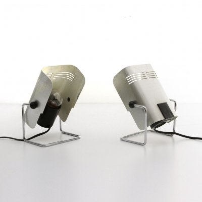 Pair of table lamps by Targetti, 1970s