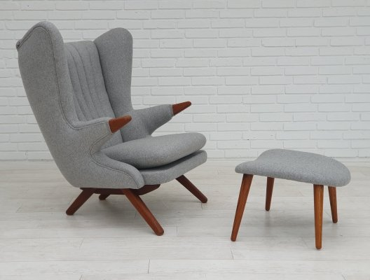 Bamsestol arm chair by Svend Skipper for Skippers Møbler, 1970s