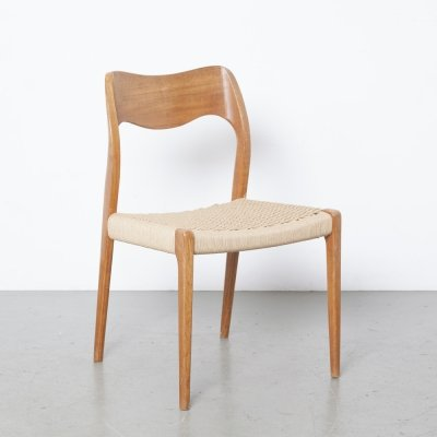 Model 71 Chair by Niels Otto Møller for JL Møller Møbelfabrik