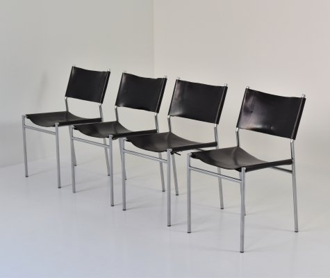 SE06 dining chairs by Martin Visser for 't Spectrum, The Netherlands 1960's