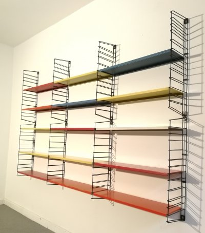 Tomado bookshelves in metal, 1960s