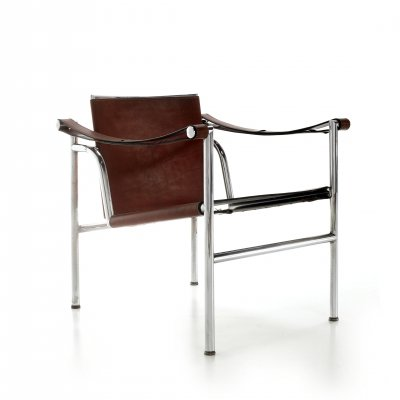 LC1 arm chair by Le Corbusier for Cassina, 1970s