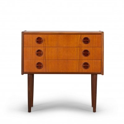 Danish Design Teak vintage chest of drawers, 1960s