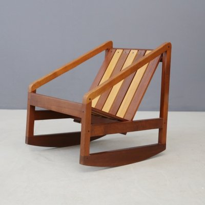 Children Rocking Chair by Pierluigi Ghianda, 1960s