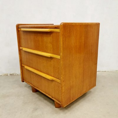 Vintage Dutch design chest of drawers cabinet by Cees Braakman for Pastoe, 1950s