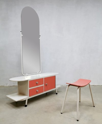 Vintage design dressing table & stool