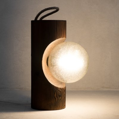 Hanging wall lamp or table lamp by Temde AG, 1970s