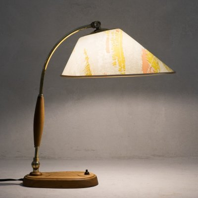 Mid Century Modern table lamp by Temde Leuchten, 1960s