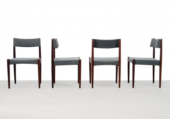 Set of 4 Rosewood dining room chairs from Bovenkamp, 1960s