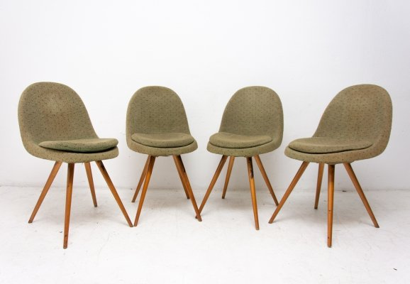 Mid century dining chairs by Frantisek Jirák for Tatra Pravenec, 1960s