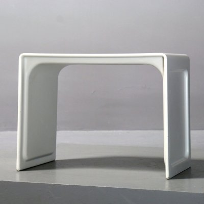 Early 621 side table with double-walled construction by Dieter Rams for Vitsoe, 1960s