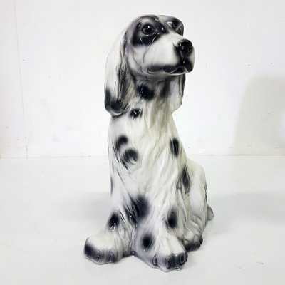 Ceramic statue of a dog, 1970s