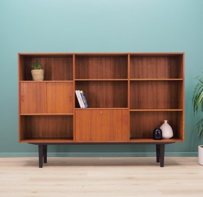 Teak Highboard by Westergaards Möbelfabrik, 1970s