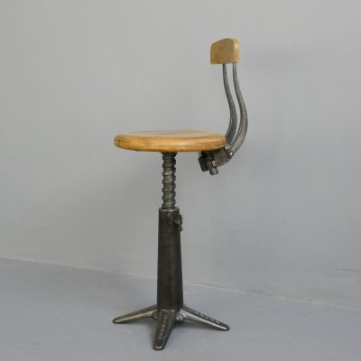 Industrial Chair by Singer, Circa 1920s