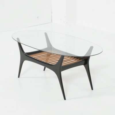 Coffee Table by Alfred Hendrickx for Belform, 1950s