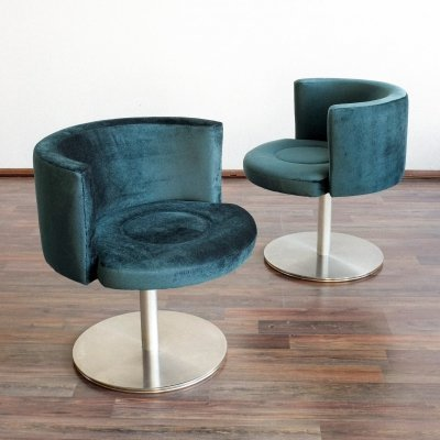 Pair of Cocktail chairs from Hotel Kyjev, 1970s