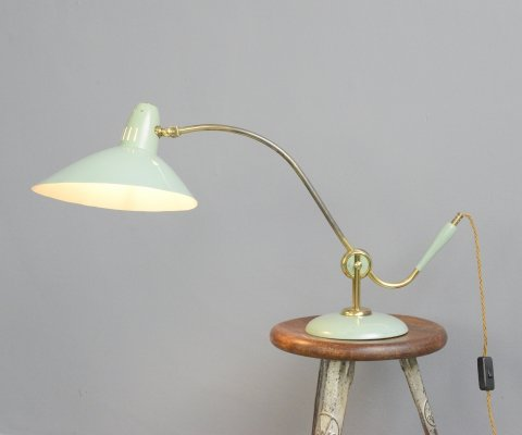 Mid Century Table Lamp by Helo, Circa 1950s