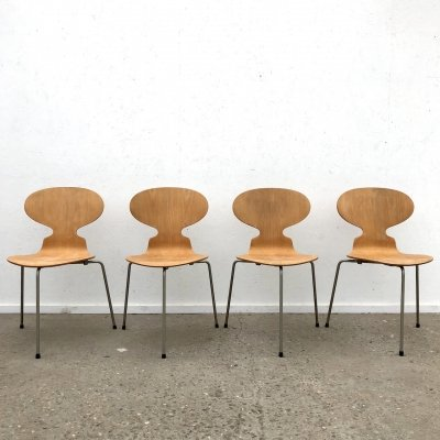 Early three legged Ant chairs by Arne Jacobsen for Fritz Hansen, 1960s
