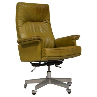 Vintage de Sede DS 35 Executive Swivel Amchair, Switzerland 1960s