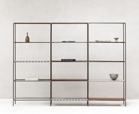 Abstracta shelving unit by Poul Cadovius, Denmark 1960s