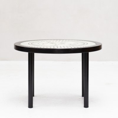 Round dining table by Lübke, Germany 1960's