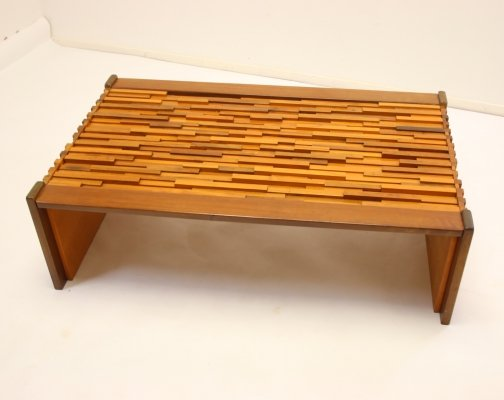 Brazilian Jacaranda Coffee Table by Percival Lafer, 1960s