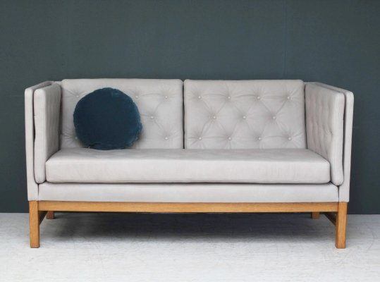 1970s Erik Jørgensen EJ 315 Leather Two Seater Sofa