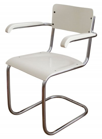 1930's Modernist Tubular Chair