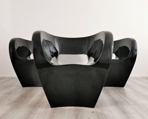Moroso Little Albert Arm Chairs by Ron Arad, 1990s
