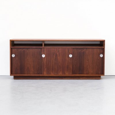 60s Finn Juhl rosewood side- / lowboard from the Diplomat series for Cado