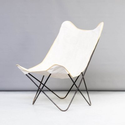 50s Jorge Ferrari-Hardoy 'butterfly' chair for Knoll
