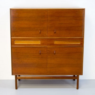 1960s Dundas Teak Cocktail Cabinet by McIntosh
