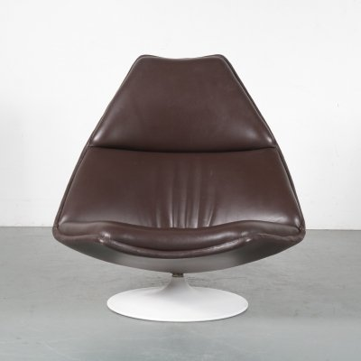 'F510' Lounge chair by Geoffrey Harcourt for Artifort, Netherlands 1960s