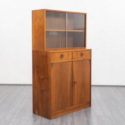 Vintage Two-part display cabinet, 1950s