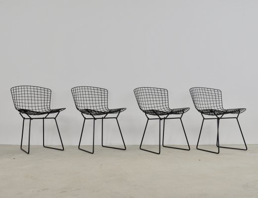 Set of 4 Chairs by Harry Bertoia for Knoll, 1960s