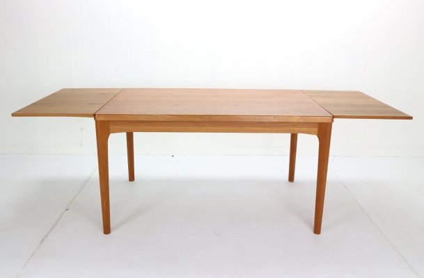 Extendable Dining Table by Henning Kaerjnulf for Vejle Stole Møbelfabrik, 1960