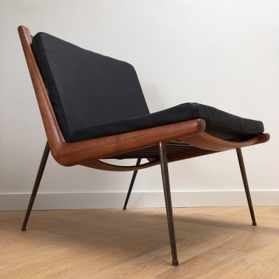 Boomerang lounge chair by Peter Hvidt & Orla Mølgaard Nielsen for France & Daverkosen, 1950s