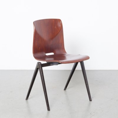 50 x S22 Pagholz Thur-Op-Seat school chair by Galvanitas, 1960s
