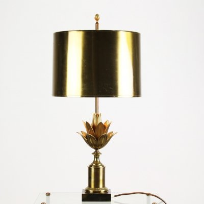 Maison Jansen desk lamp, 1970s