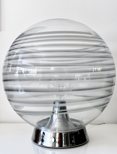 Rare & impressive XL Globe lamp by Vistosi, 1960's