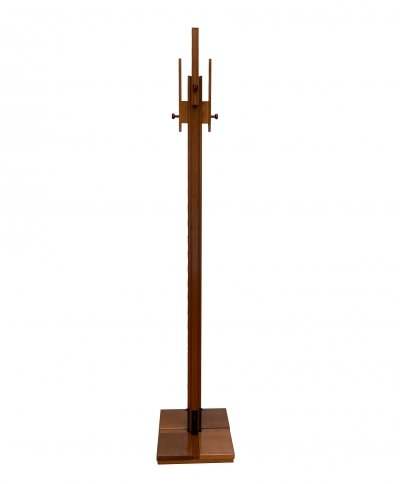 1960s Ash Wood Coat Rack by Carlo De Carli for FIARM