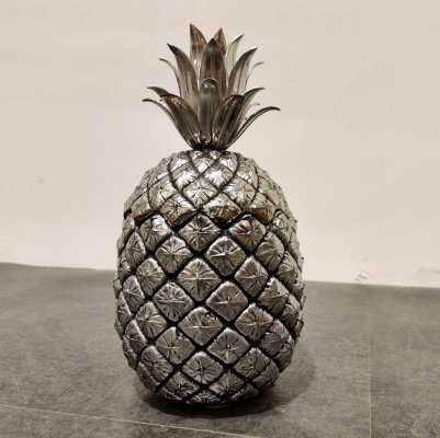 Vintage pineapple ice bucket by Mauro Manetti, 1960s