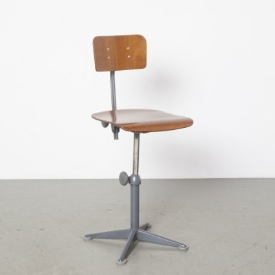 Drafting table chair by Friso Kramer for Ahrend de Cirkel, 1960s