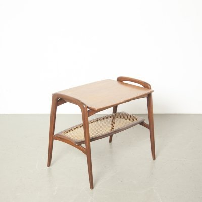 Teak side table by Louis van Teeffelen for Webé