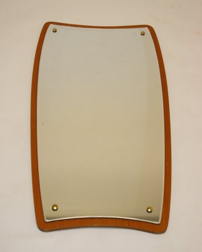 Danish design Mirror on teak frame, 1960s