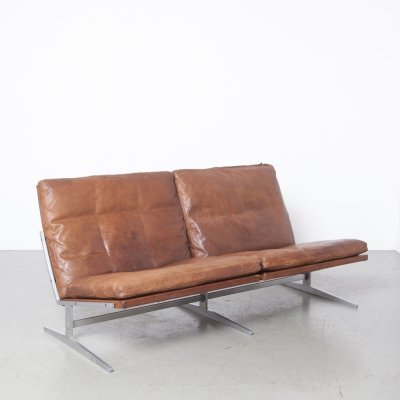 BO-562 Two Seater sofa/couch by Preben Fabricius & Jørgen Kastholm for Bo-Ex