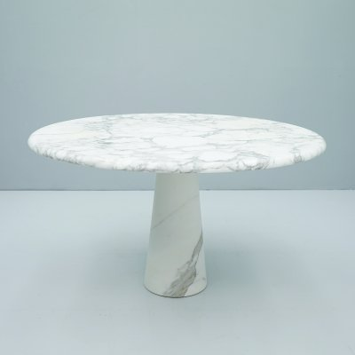 Marble Dining Table by Angelo Mangiarotti, 1970s