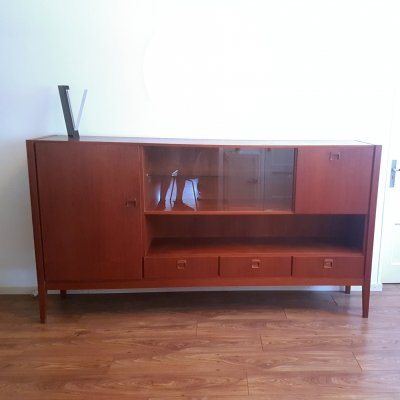 Large teak sideboard by Fristho, Netherlands 1960s