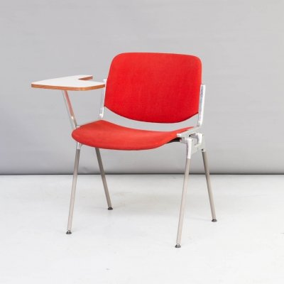 60s Giancarlo Piretti chair with writing top for Castelli